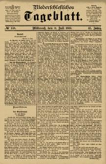 Niederschlesisches Tageblatt, no 158 (Mittwoch, den 11. Juli 1883)