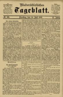 Niederschlesisches Tageblatt, no 169 (Dienstag, den 24. Juli 1883)