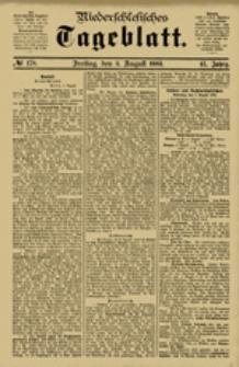 Niederschlesisches Tageblatt, no 178 (Freitag, den 3. August 1883)