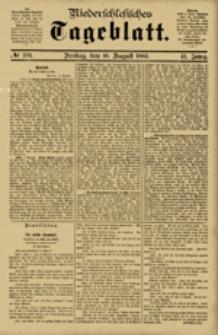 Niederschlesisches Tageblatt, no 184 (Freitag, den 10. August 1883)