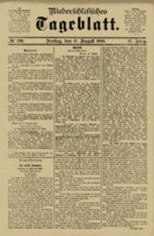 Niederschlesisches Tageblatt, no 190 (Freitag, den 17. August 1883)