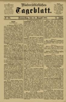 Niederschlesisches Tageblatt, no 195 (Donnerstag, den 23. August 1883)