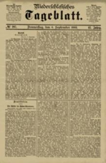 Niederschlesisches Tageblatt, no 207 (Donnerstag, den 6. September 1883)