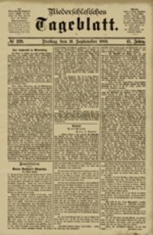 Niederschlesisches Tageblatt, no 220 (Freitag, den 21. September 1883)