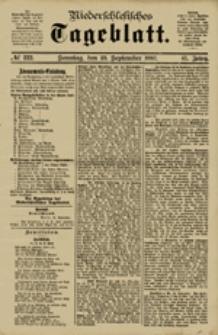 Niederschlesisches Tageblatt, no 222 (Sonntag, den 23. September 1883)