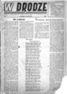 W drodze: dwutygodnik polityczny i literacki, Rok I, Nr 4 (16 maja 1943)