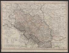 Schlesien in nieder- und ober Schlesien, dann in Furstenthumer eingetheilt, nebst der Grafschaft Glatz