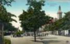 Świebodzin / Schwiebus; Lindenplatz