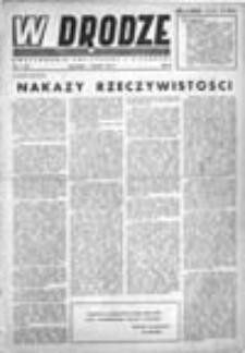 W drodze: dwutygodnik polityczny i literacki, Rok II, Nr 1(19) (1 stycznia 1944)