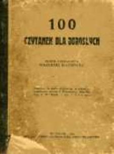 100 czytanek dla dorosłych