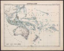 Australien [Dokument kartograficzny]