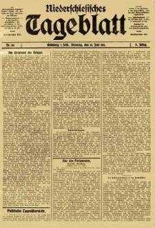 Niederschlesisches Tageblatt, no 145 (Dienstag, den 24. Juni 1913)