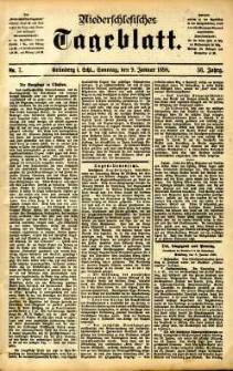Niederschlesisches Tageblatt, no 7 (Grünberg i. Schl., Sonntag, den 9. Januar 1898)