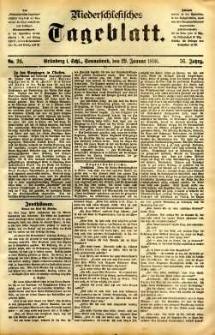 Niederschlesisches Tageblatt, no 24 (Grünberg i. Schl., Sonnabend, den 29. Januar 1898)
