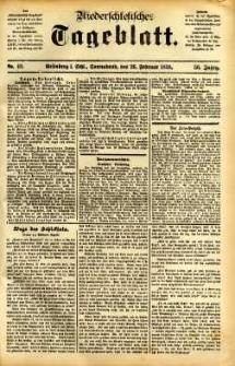 Niederschlesisches Tageblatt, no 48 (Grünberg i. Schl., Sonnabend, den 26. Februar 1898)