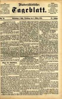 Niederschlesisches Tageblatt, no 56 (Grünberg i. Schl., Dienstag, den 8. März 1898)