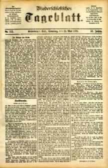 Niederschlesisches Tageblatt, no 113 (Grünberg i. Schl., Sonntag, den 15. Mai 1898)