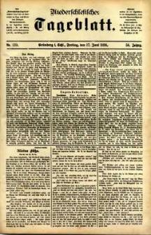 Niederschlesisches Tageblatt, no 139 (Grünberg i. Schl., Freitag, den 17. Juni 1898)