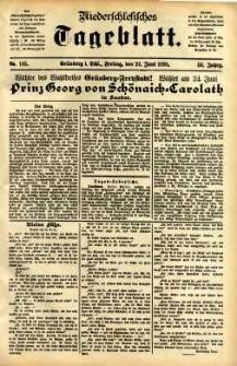 Niederschlesisches Tageblatt, no 145 (Grünberg i. Schl., Freitag, den 24. Mai 1898)