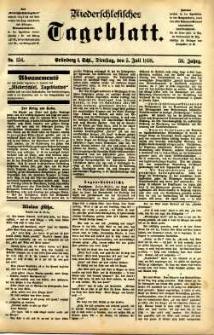 Niederschlesisches Tageblatt, no 154 (Grünberg i. Schl., Dienstag, den 5. Juli 1898)