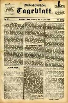 Niederschlesisches Tageblatt, no 171 (Grünberg i. Schl., Sonntag, den 24. Juli 1898)