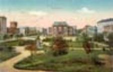 Zasieki / Forst i. L.; Bismarckplatz; Plac Bismarck'a