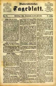 Niederschlesisches Tageblatt, no 176 (Grünberg i. Schl., Sonnabend, den 30. Juli 1898)