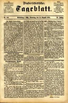 Niederschlesisches Tageblatt, no 189 (Grünberg i. Schl., Sonntag, den 14. August 1898)
