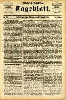 Niederschlesisches Tageblatt, no 191 (Grünberg i. Schl., Mittwoch, den 17. August 1898)