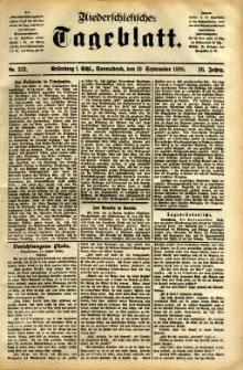 Niederschlesisches Tageblatt, no 212 (Grünberg i. Schl., Sonnabend, den 10. September 1898)