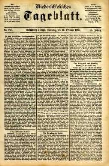 Niederschlesisches Tageblatt, no 243 (Grünberg i. Schl., Sonntag, den 16. Oktober 1898)