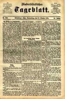 Niederschlesisches Tageblatt, no 252 (Grünberg i. Schl., Donnerstag, den 27. Oktober 1898)