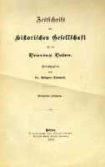 Zeitschrift der Historischen Gesellschaft für die Provinz Posen, Jg. 14 (1899)