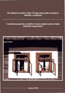 Wybrane zjawiska językowe występujące w nazwach religijnych górali czadeckich w Bukowiny