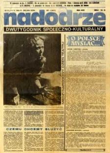 Nadodrze: dwutygodnik społeczno-kulturalny, nr 1 (28 marca-10 kwietnia 1982)