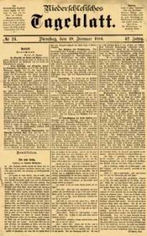 Niederschlesisches Tageblatt, no 24 (Dienstag, den 29. Januar 1884)