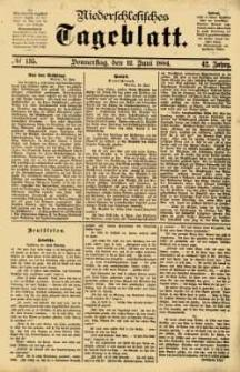 Niederschlesisches Tageblatt, no 135 (Donnerstag, den 12. Juni 1884)