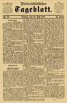 Niederschlesisches Tageblatt, no 172 (Freitag, den 25. Juli 1884)