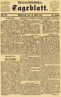 Niederschlesisches Tageblatt, no 176 (Mittwoch, den 30. Juli 1884)