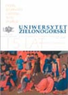 Uniwersytet Zielonogórski, 2005/2006, nr 12/1 (grudzień-styczeń)