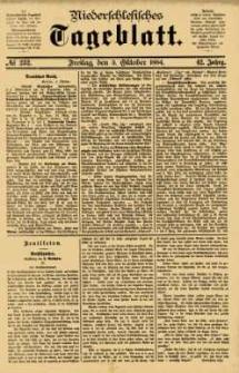 Niederschlesisches Tageblatt, no 232 (Freitag, den 3. Oktober 1884)