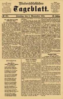 Niederschlesisches Tageblatt, no 258 (Sonntag, den 2. November 1884)