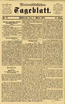 Niederschlesisches Tageblatt, no 53 (Mittwoch, den 4. März 1885)