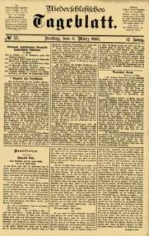 Niederschlesisches Tageblatt, no 55 (Freitag, den 6. März 1885)