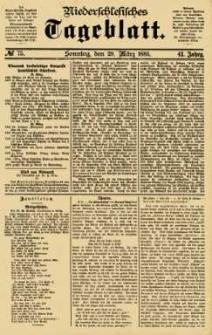 Niederschlesisches Tageblatt, no 75 (Sonntag, den 29. März 1885)