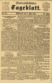 Niederschlesisches Tageblatt, no 104 (Mittwoch, den 6. Mai 1885)