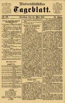 Niederschlesisches Tageblatt, no 119 (Sonntag, den 24. Mai 1885)