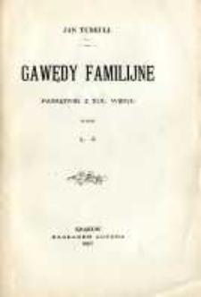 Gawędy familijne: pamiętnik z XIX wieku