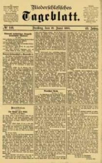 Niederschlesisches Tageblatt, no 140 (Freitag, den 19. Juni 1885)