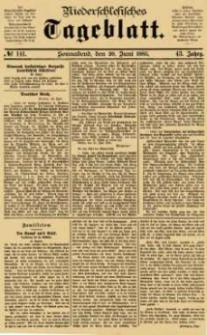 Niederschlesisches Tageblatt, no 141 (Sonnabend, den 20. Juni 1885)